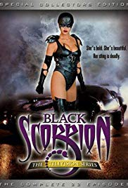Black Scorpion DVD box Cover