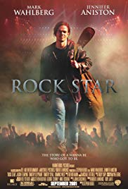 Rock Star DVD box Cover